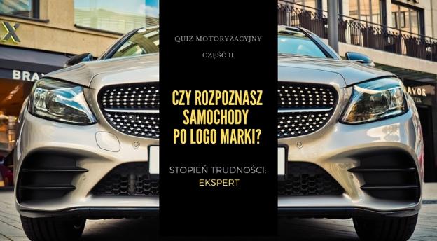 QUIZ MOTORYZACYJNY. Rozpoznasz marki samochodów po logo? [TRUDNY]