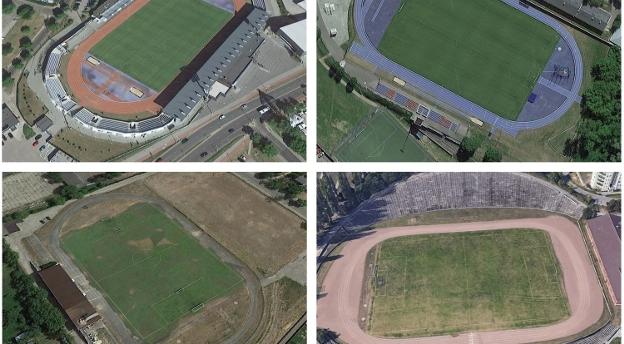 Rozpoznasz regionalne stadiony piłkarskie z lotu ptaka? QUIZ