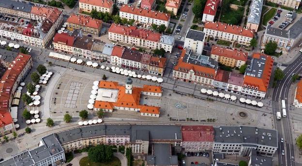 Białystok z lotu ptaka. Rozpoznaj, co jest na zdjęciu