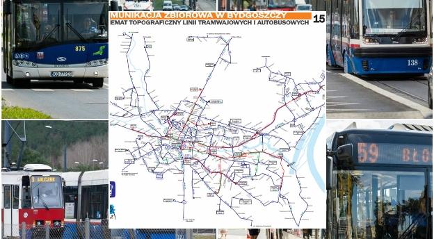 Czy znasz trasy linii tramwajowych i autobusowych w Bydgoszczy? Sprawdź się! [QUIZ]
