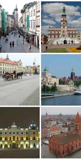 Polski Amsterdam, Manchester Północy, Mały Wiedeń - które to polskie miasta?