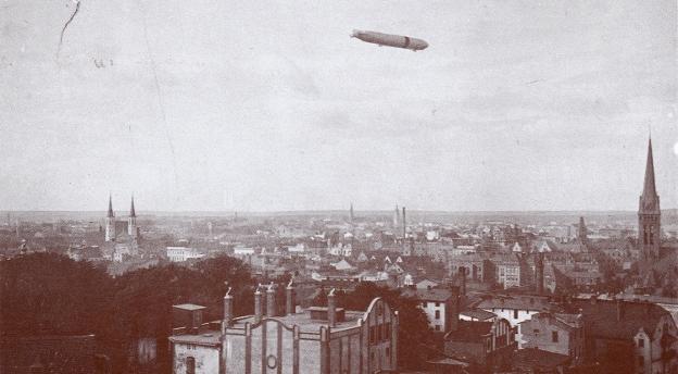 Bydgoszcz sto lat temu z lotu ptaka. Poznajesz te miejsca? [quiz]