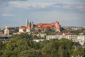 Z którego miejsca w Krakowie można zobaczyć taki widok?