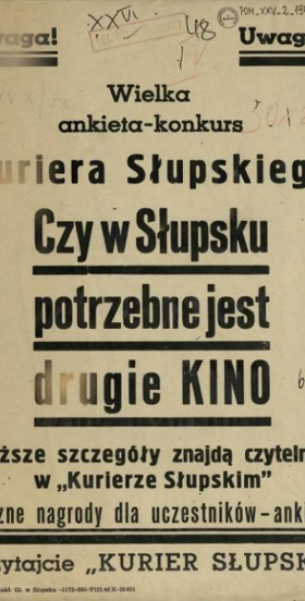 Historia kina w Słupsku i okolicy