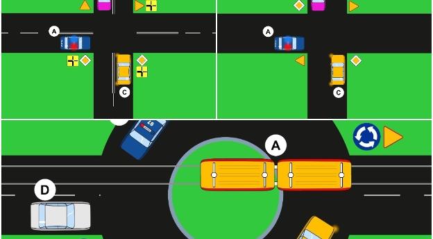 Czy jesteś dobrym kierowcą? Kto tu ma pierwszeństwo? QUIZ