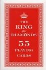 Karty do gry 55 listków King of Diamonds. Czerwone
