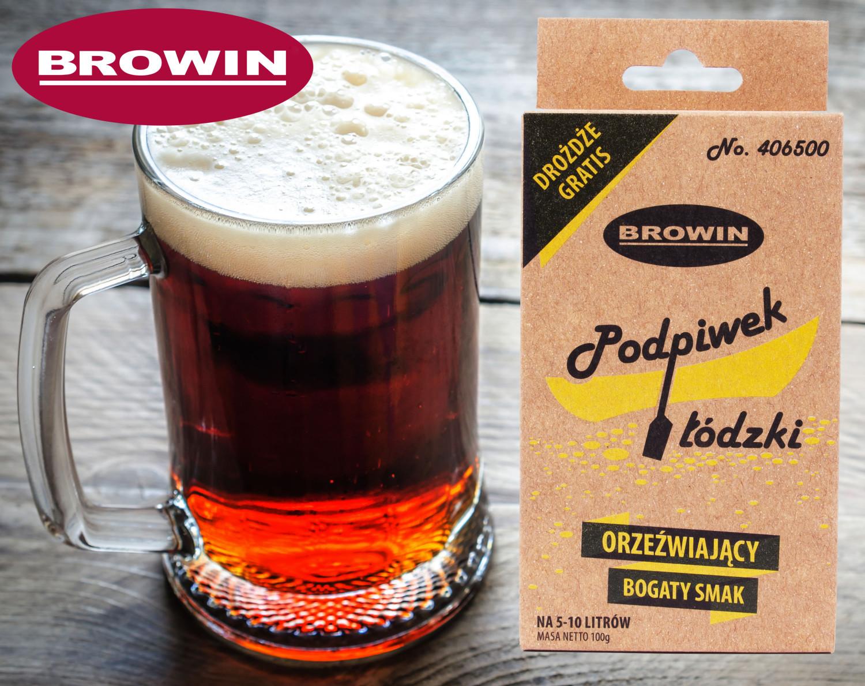 Podpiwek Łódzki na 10 litrów, Browin