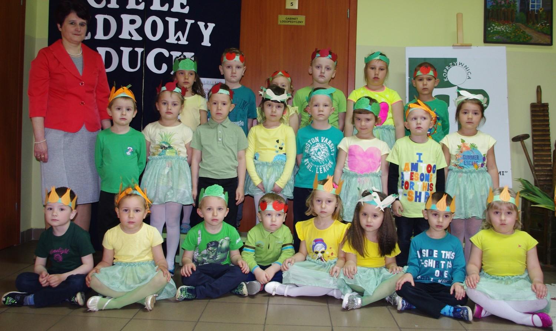 """Przedszkole """"Pod Sosnami"""" w Koprzywnicy. Grupa II"""