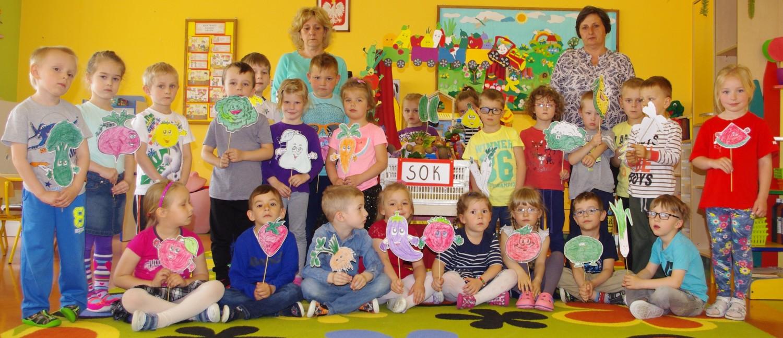 Przedszkole Samorządowe nr 5 w Sandomierzu. Grupa Muchomorki: