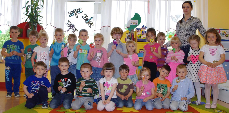 Przedszkole Samorządowe nr 5 w Sandomierzu. Grupa Pszczółki