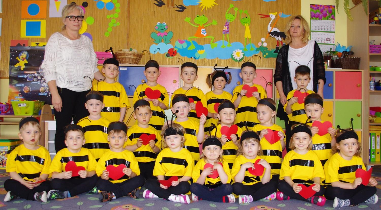 Przedszkole Samorządowe nr 6 w Sandomierzu. Grupa II - Pszczółki
