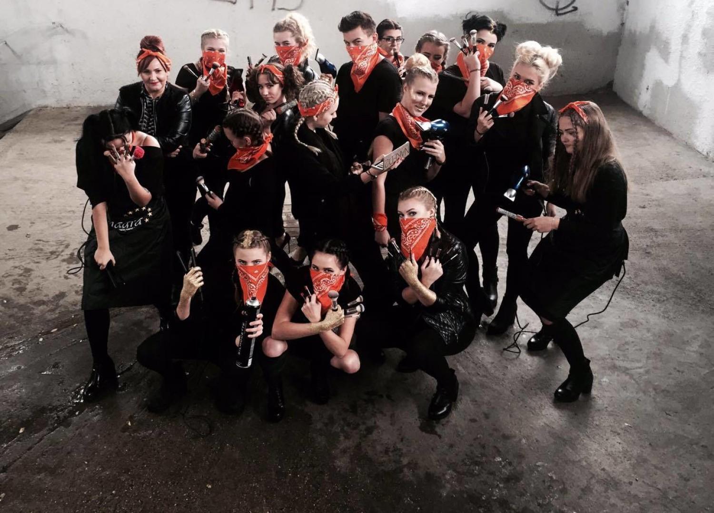 Klasa 2b Technikum przy Łódzkiej Szkole Mody-Kosmetologii-Fryzjerstwa Anagra