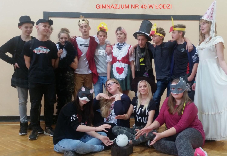 "Klasa 3A -""Teatralni"", Gimnazjum nr 40 w Łodzi"