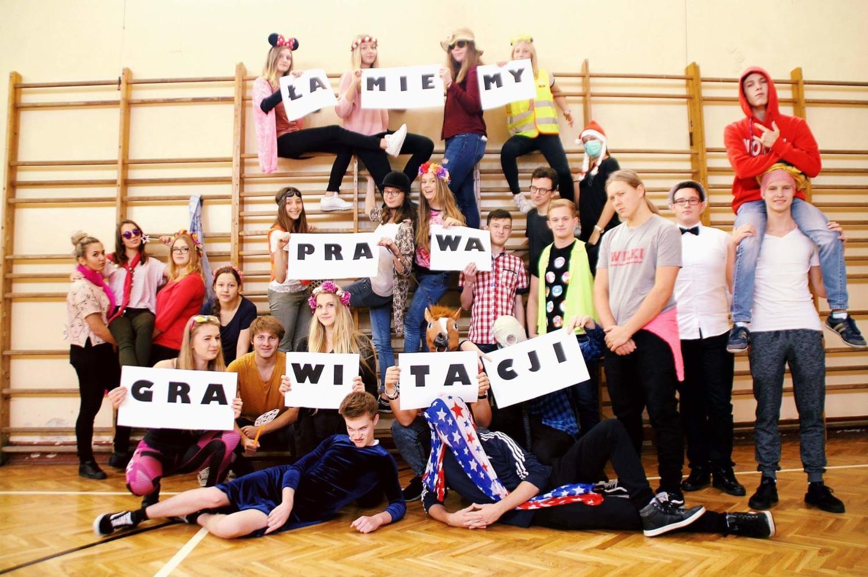 Klasa 2D 26 Liceum Ogólnokształcące w Łodzi