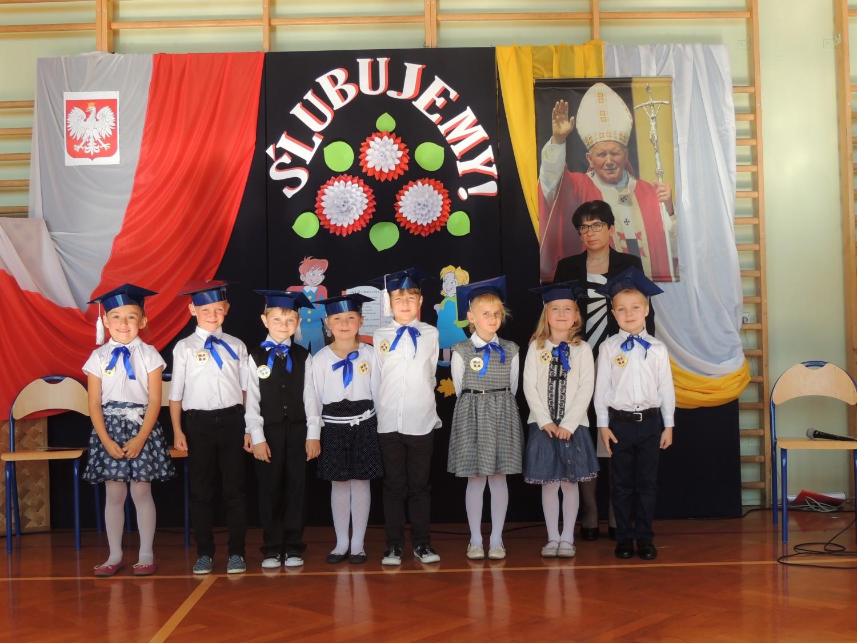 Szkoła Podstawowa im. Jana Pawła II w Groblach - Klasa I