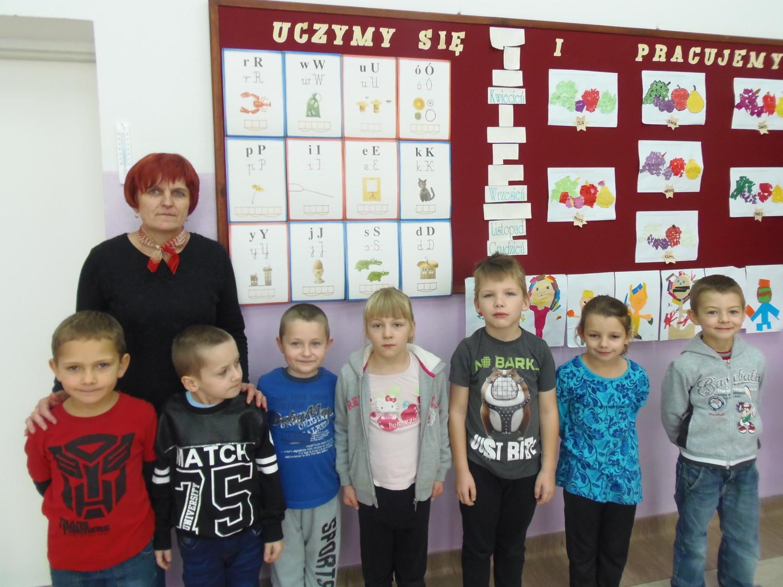 Szkoła Podstawowa im. Jana Pawła II w Niepli - klasa I