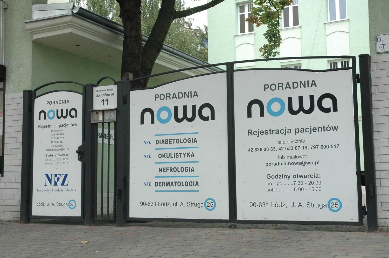 PORADNIA NOWA, Łódź