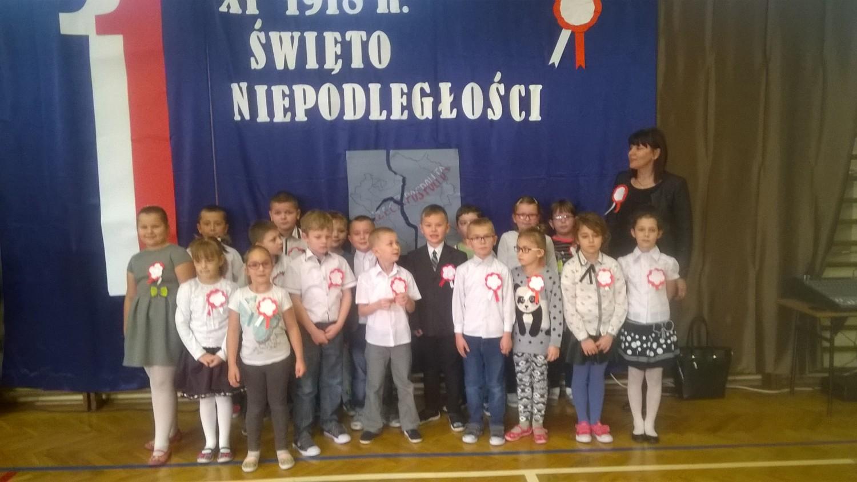 Szkoła Podstawowa im. Bohaterów Września 1939r. z Radymna - Klasa 1b