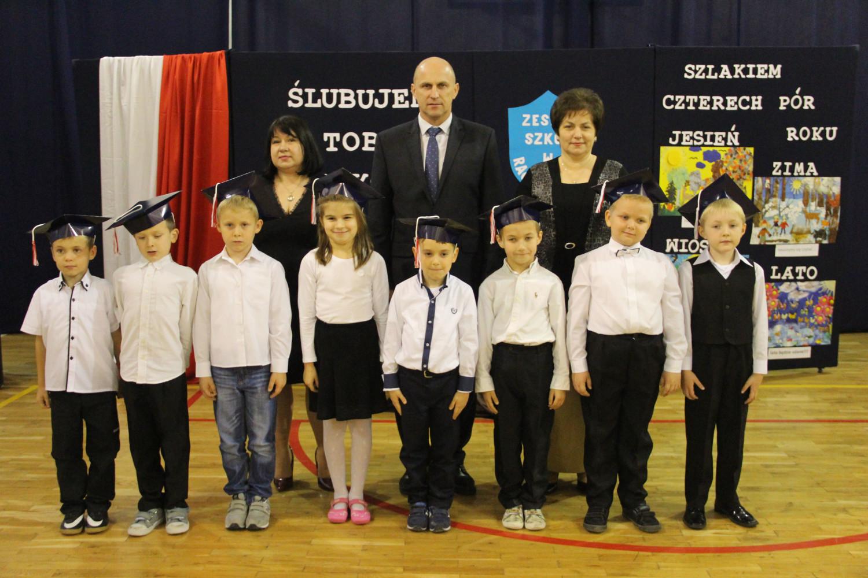 Szkoła Podstawowa im. Marii Konopnickiej w Racławówce - Klasa I
