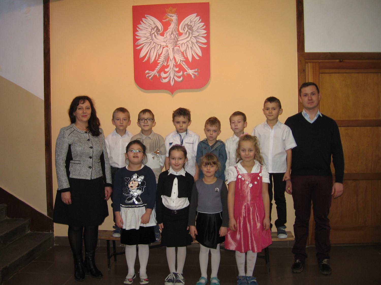 Szkoła Podstawowa w Woli Zgłobieńskiej - Klasa I