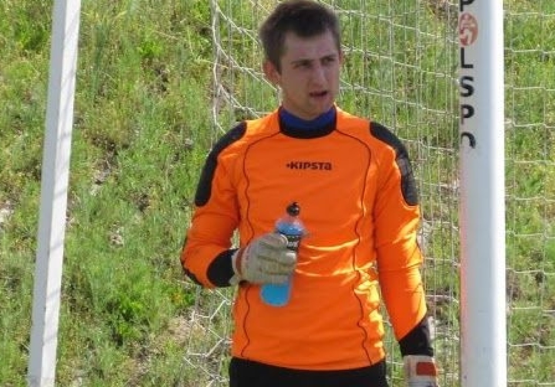 Tomasz Wrzoskiewicz, Strzelec Chroberz, piłka nożna