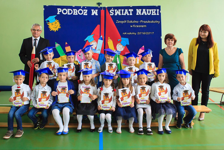 Zespół Szkolno-Przedszkolny w Krasnem , Szkoła Podstawowa im. Mikołaja Kopernika - klasa Ia