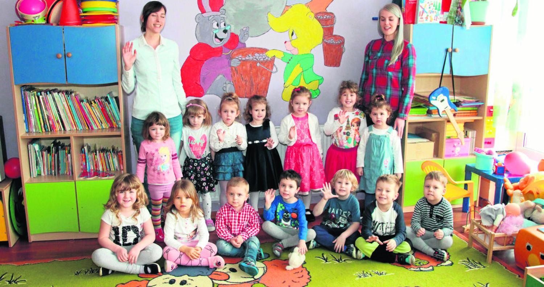 PP 1 Nasz Domek grupa młodsza 3-4- latków