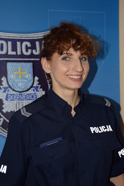 starszy sierżant Ilona Brugger-Majewska