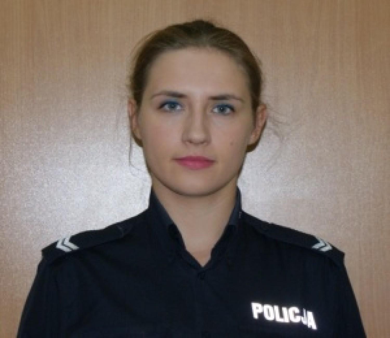 st.sierż. Joanna Andrzejczak.
