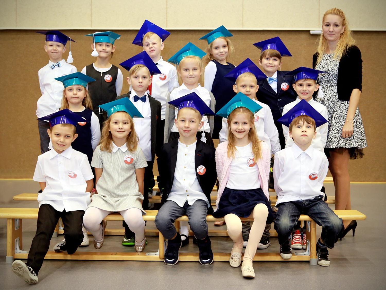 1Pa w Szkole Podstawowej Mistrzostwa Sportowego z Oddziałami Dwujęzycznymi nr 9 w Policach- Zespół Szkół w Policach