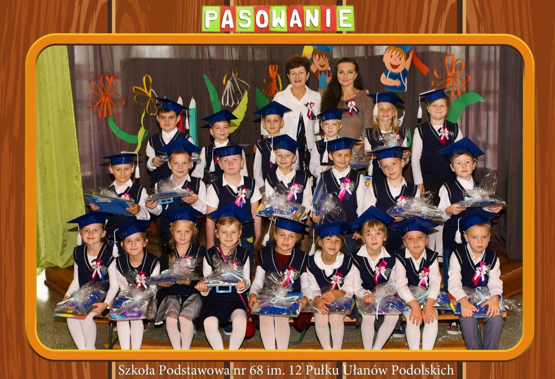 Klasa 1 c ze Szkoły Podstawowej nr 68 w Szczecinie im. 12 Pułku Ułanów Podolskich