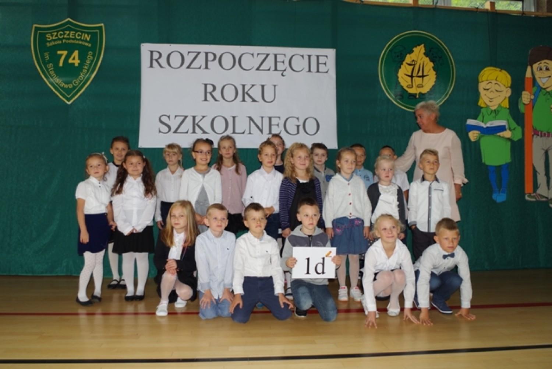 Klasa 1d Szkoła Podstawowa nr 74