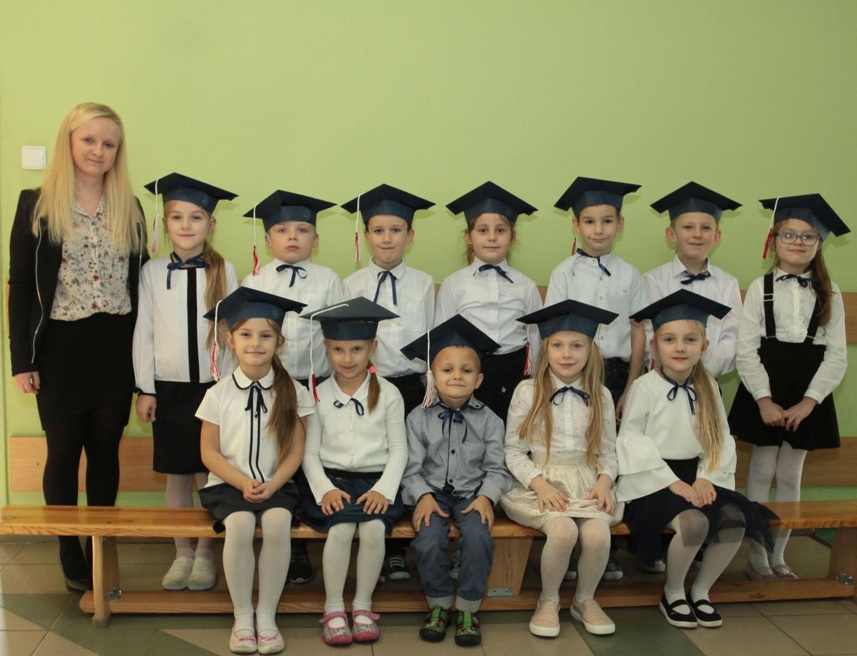 Publiczna Szkoła Podstawowa numer 19, imienia Edmunda Bakalarza w Radomiu.Klasa 1B