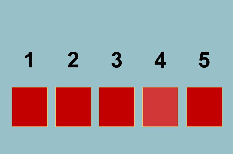 Wskaż pole, na którym kolor jest nieco inny. Masz tylko jedno pole do wyboru, kliknij zdjęcie, by je powiększyć