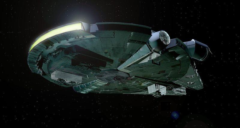 Jak nazywa się statek Hana Solo?