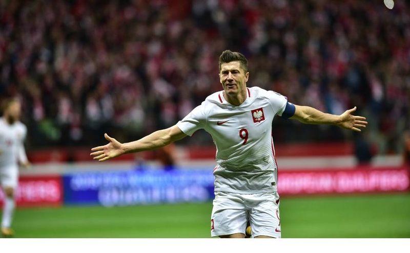 Ile meczów w reprezentacji Polski rozegrał Robert Lewandowski?