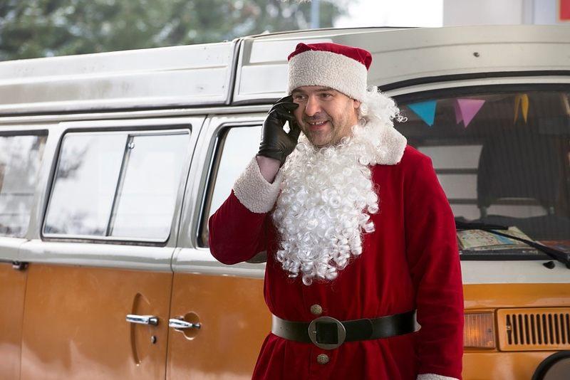 Ten nietypowy Mikołaj wystąpił w filmie...