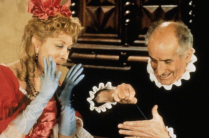 Jak nazywał się film z 1980 roku, z de Funèsem w roli tytułowej, który powstał na motywach sztuki Moliera?