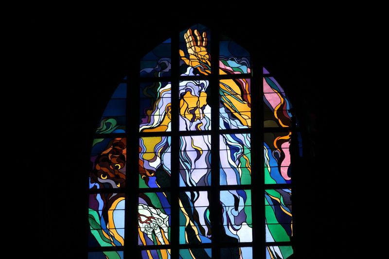Ten słynny witraż Wyspiańskiego znajduje się w kościele