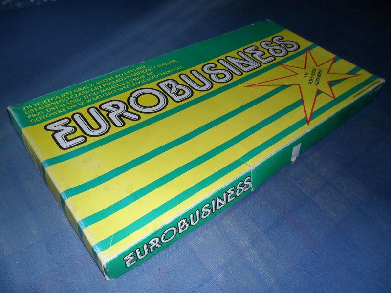 Każdy przynajmniej raz zbankrutował w Eurobusiness. Pamiętasz w jakim kolorze były koszulki kart